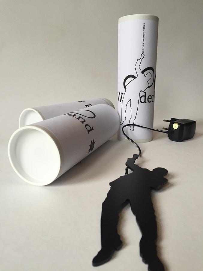 hanglamp en verpakking, uit Wonderland