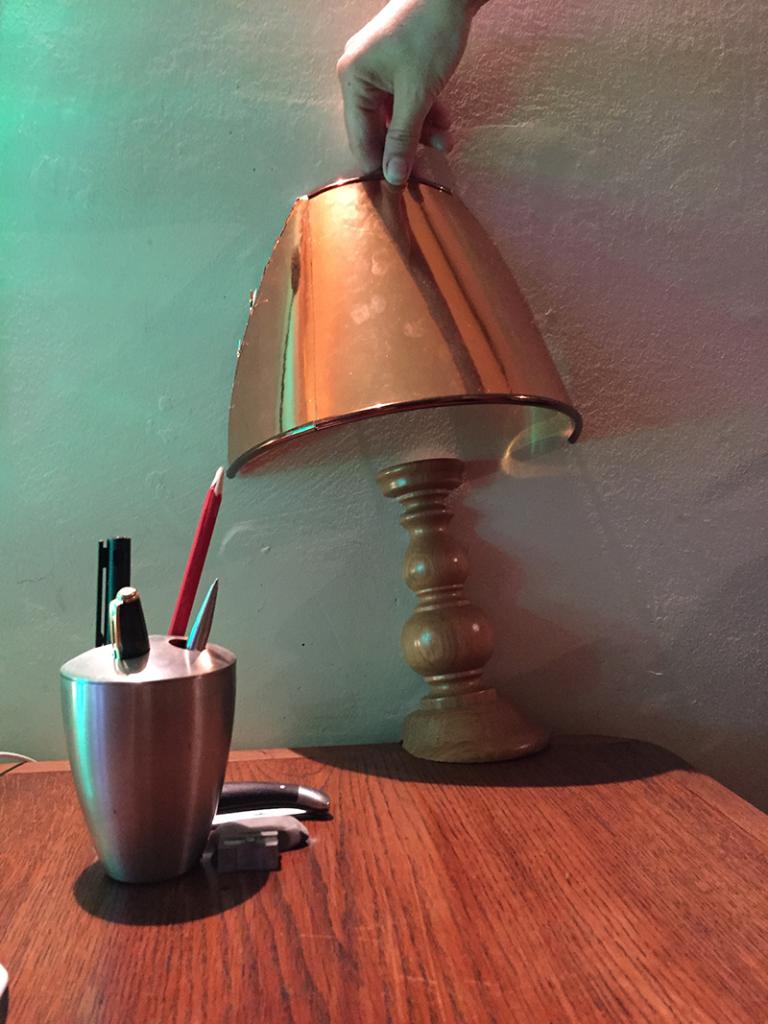verdwijnselende lamp