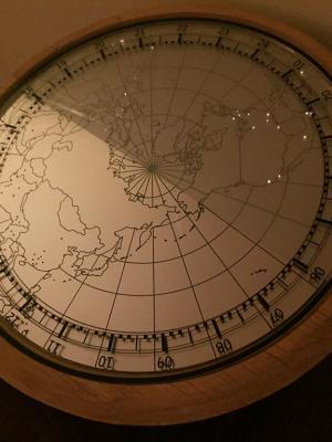 wereld theater klok uit Wonderland
